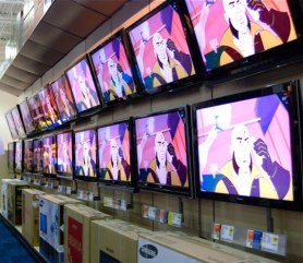 Typical TV Wall